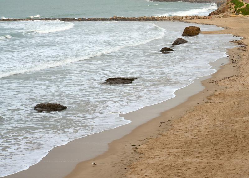 Another View of Santa Maria Beach at High Tide… Cadiz is Part of Costa del Luz (light).