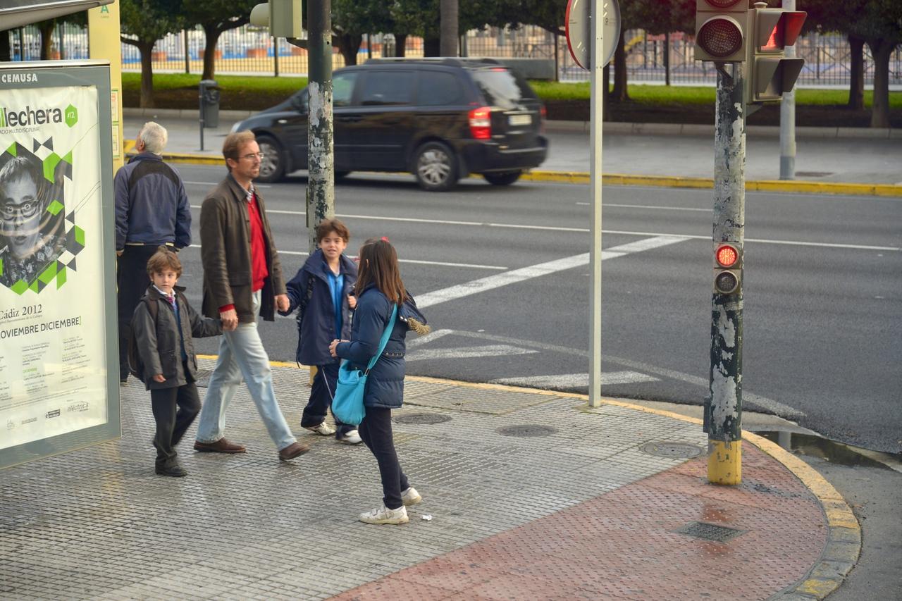 New Town, Children On Their Way to School.