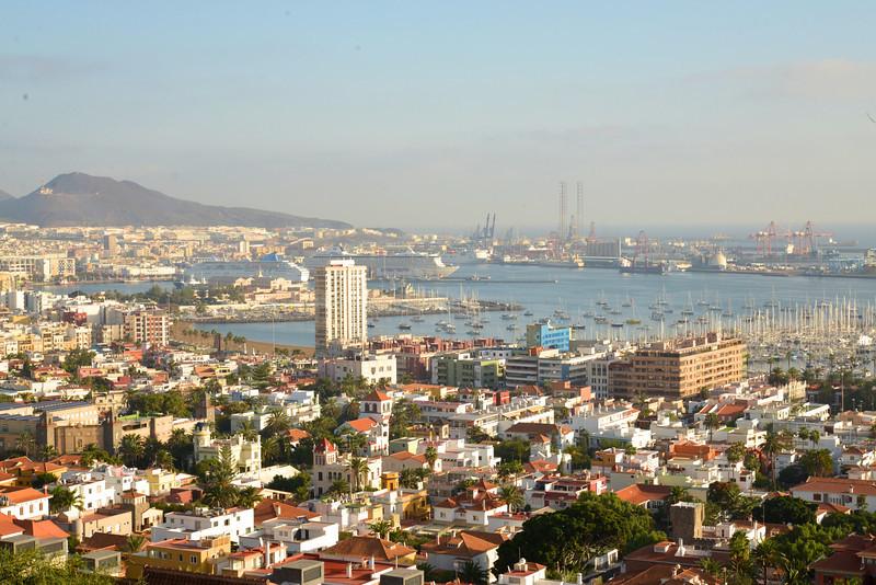 Scenic View of Las Palmas de Canarias.