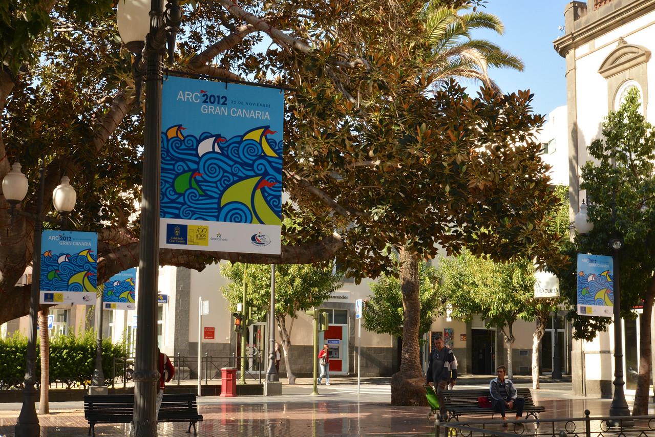 Street Scene in Las Palmas.