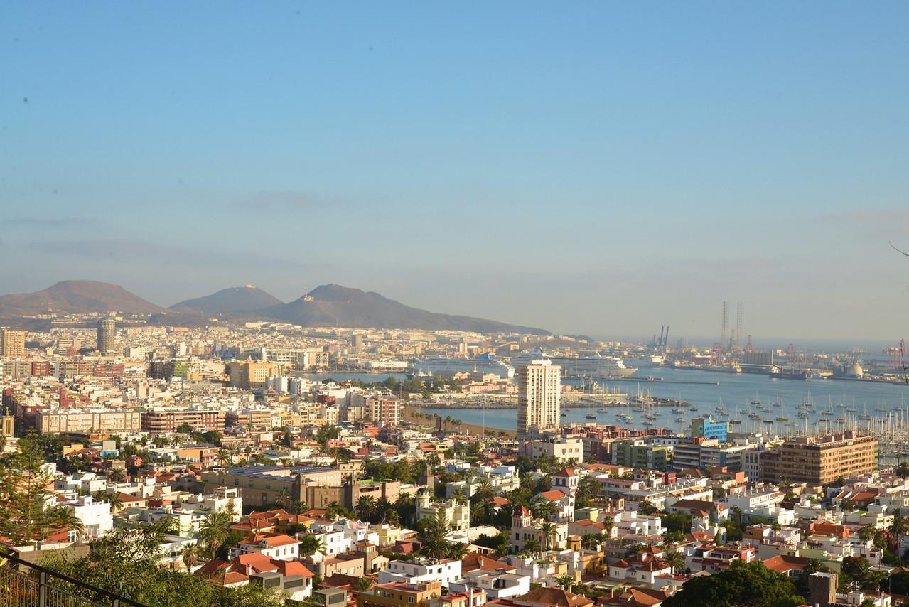 Panoramic View of Las Palmas.