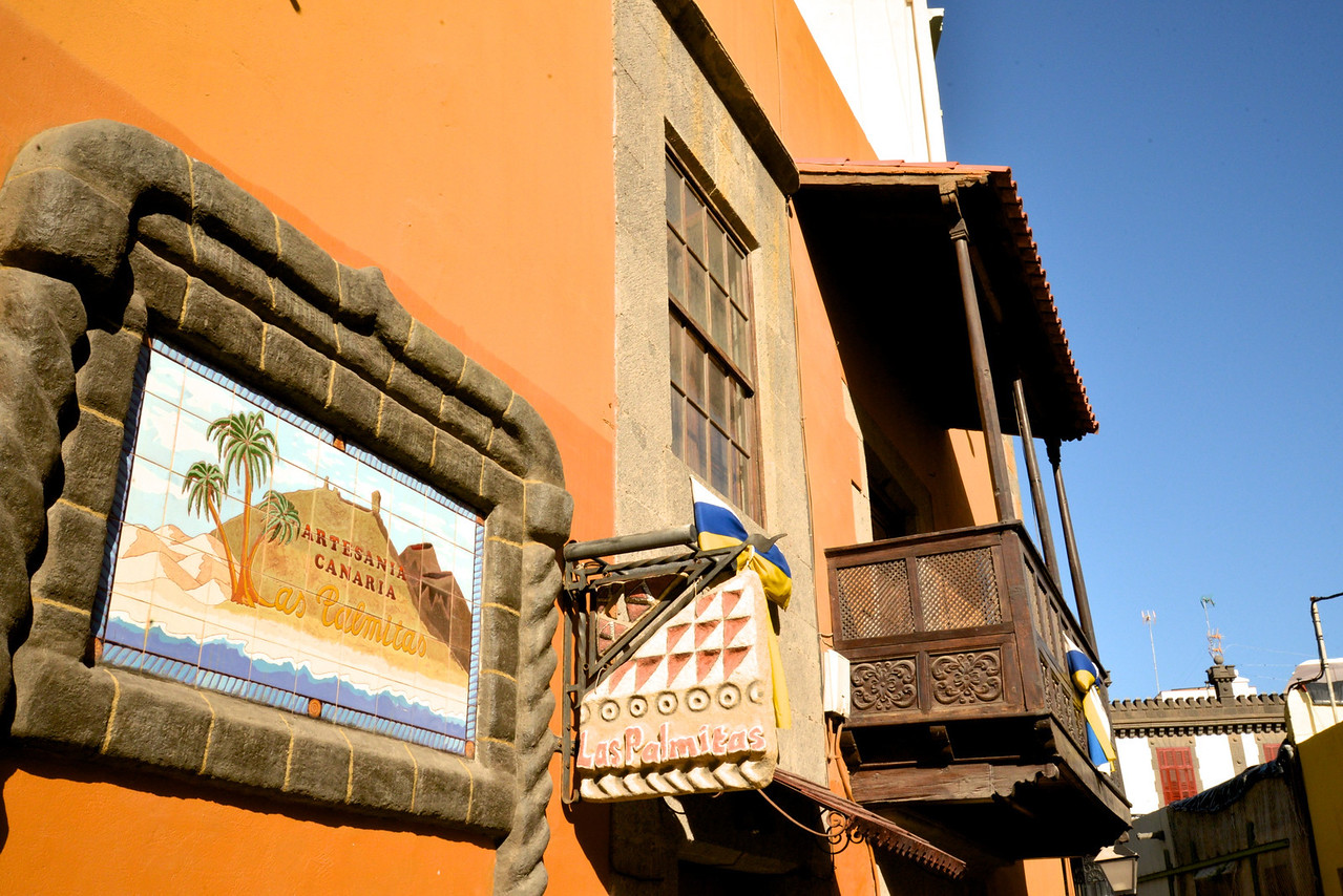 Interesting Local Street Signs… Typical Wooden Spanish Porch .