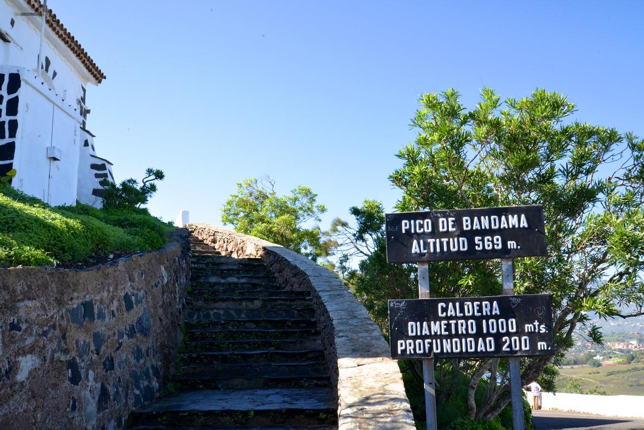 Steps to Highest Point of Bandama.