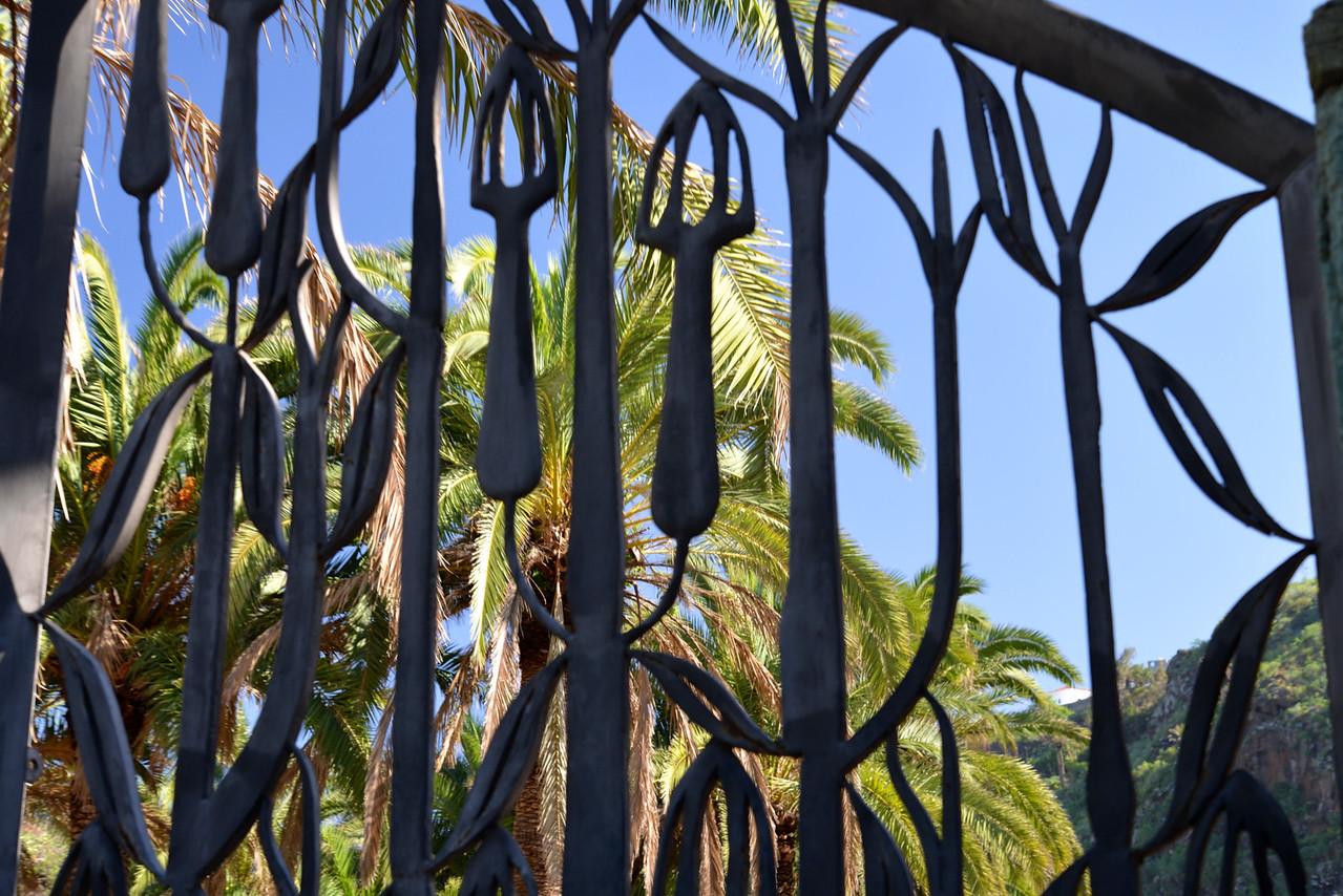 Fabulous Metal Entrance Gates.