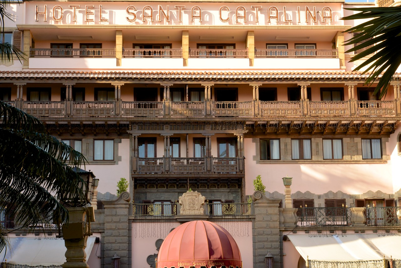 First Hotel on Las Palmas, Hotel Santa Catalina… King of Spain Has a Royal Suite Here.