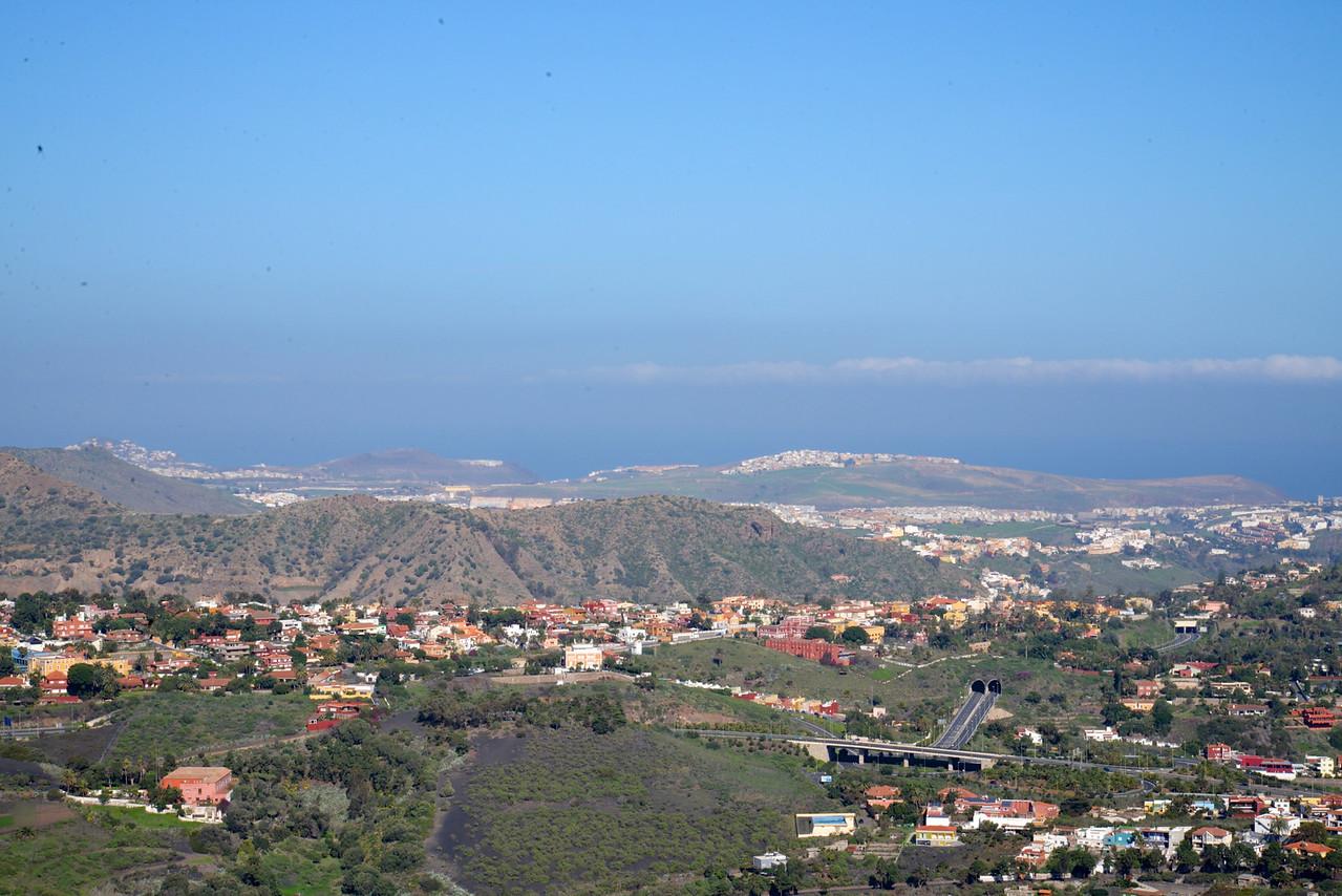 Panoramic View from Bandma Peak.