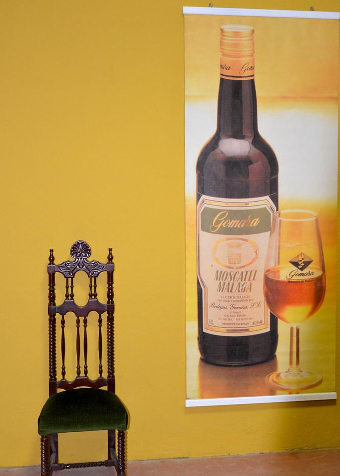 Display in Tasting Room…