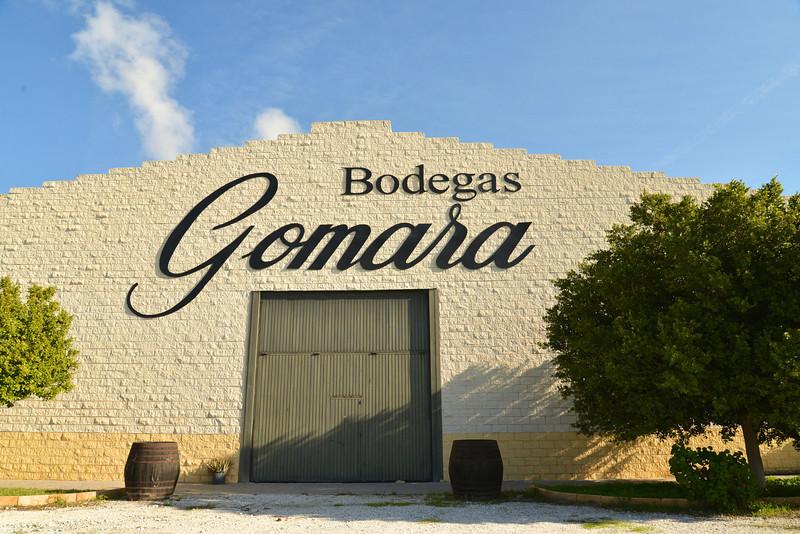 Bodegas Gomara One of 18 Wine Cellars in Malaga.
