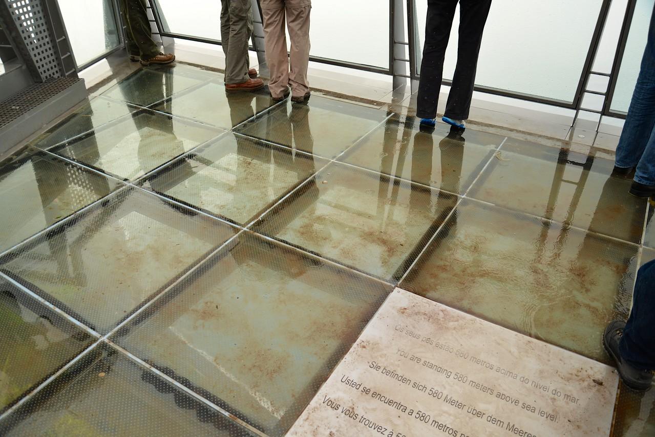Glass Platform.