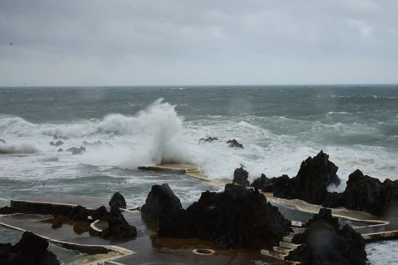 Rough Ocean.