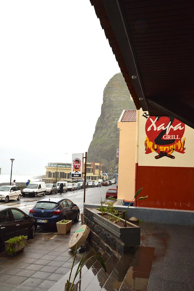 Restaurant at Sao Vincente.