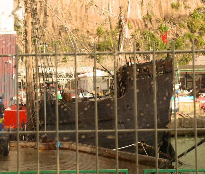 Replica of Columbus' Ship The Santa Maria.