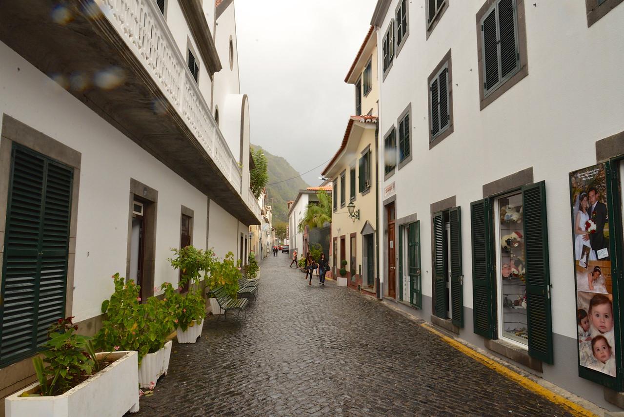Commercial Area of Ribeira Brava.