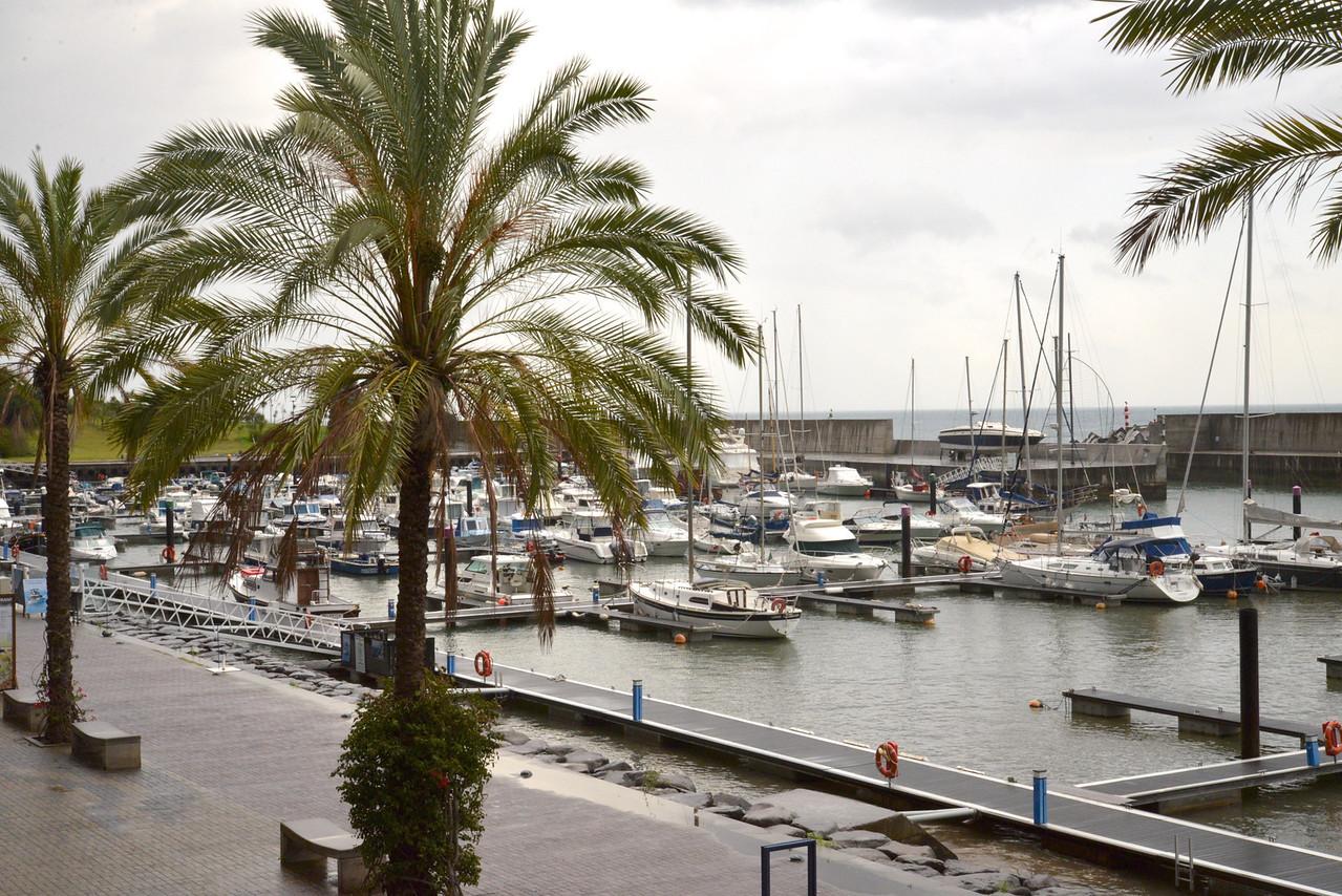 Harbor at Porto de Recreio da Calheta.