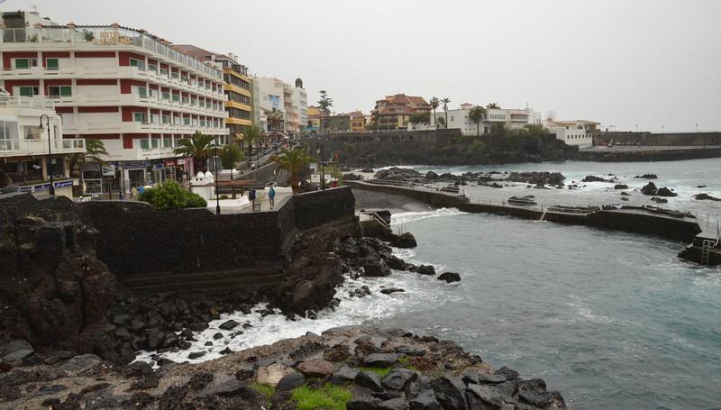Beach Area at Puerta del la Cruz.