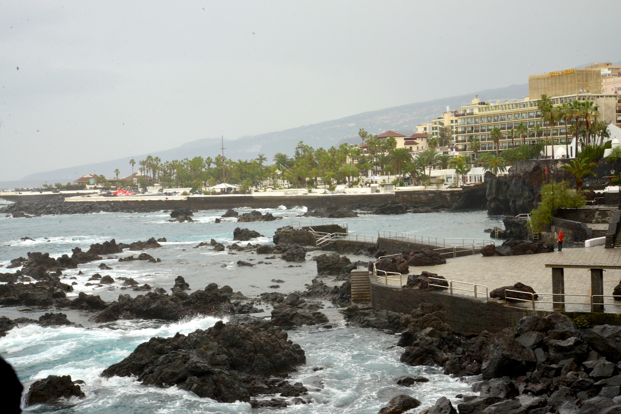 Beach Area at Puerta del la Cruz…