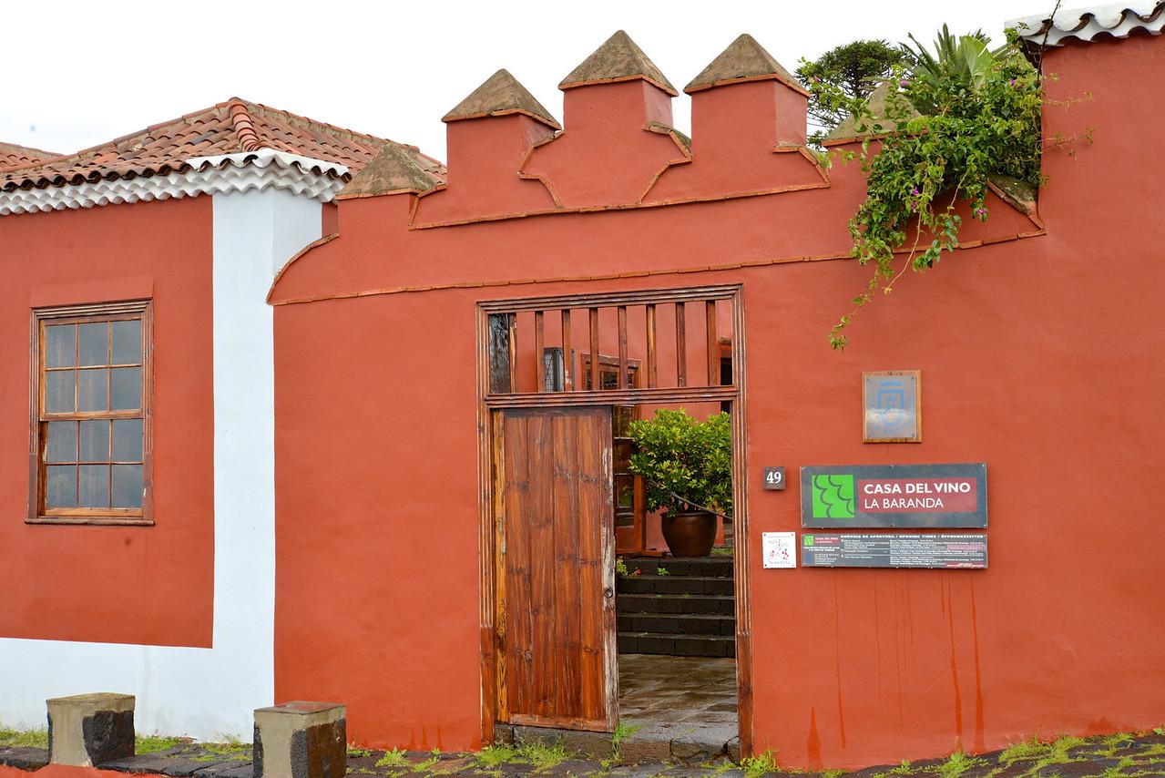Casa Del Vino La Baranda Winery.
