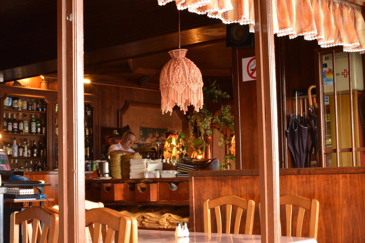 Inside Cafe.
