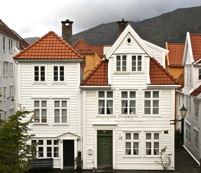 Old Bergen house