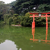 """The """"torii"""" is a traditional Japanese gate commonly found at the entrance to a Shinto shrine, although it can be found at Buddhist temples as well."""