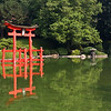 """The origin of the word """"torii"""" is not known. Since birds are considered messengers of the gods in the Shinto religion, one theory is that the gate was designed for birds to rest.  A second theory is that the word is derived from the term """"tōri-iru,"""" meaning to pass through and enter."""