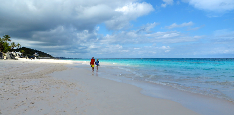 Elbow Beach, south coast, Bermuda