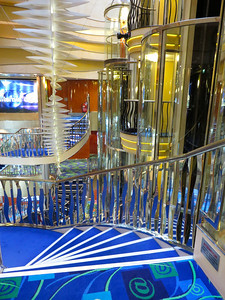 Norwegian Dawn Atrium