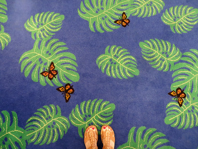 Whimsical carpet