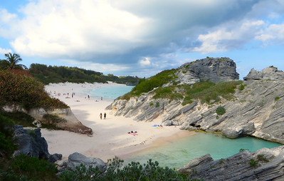 Horseshoe Bay,  south coast, Bermuda