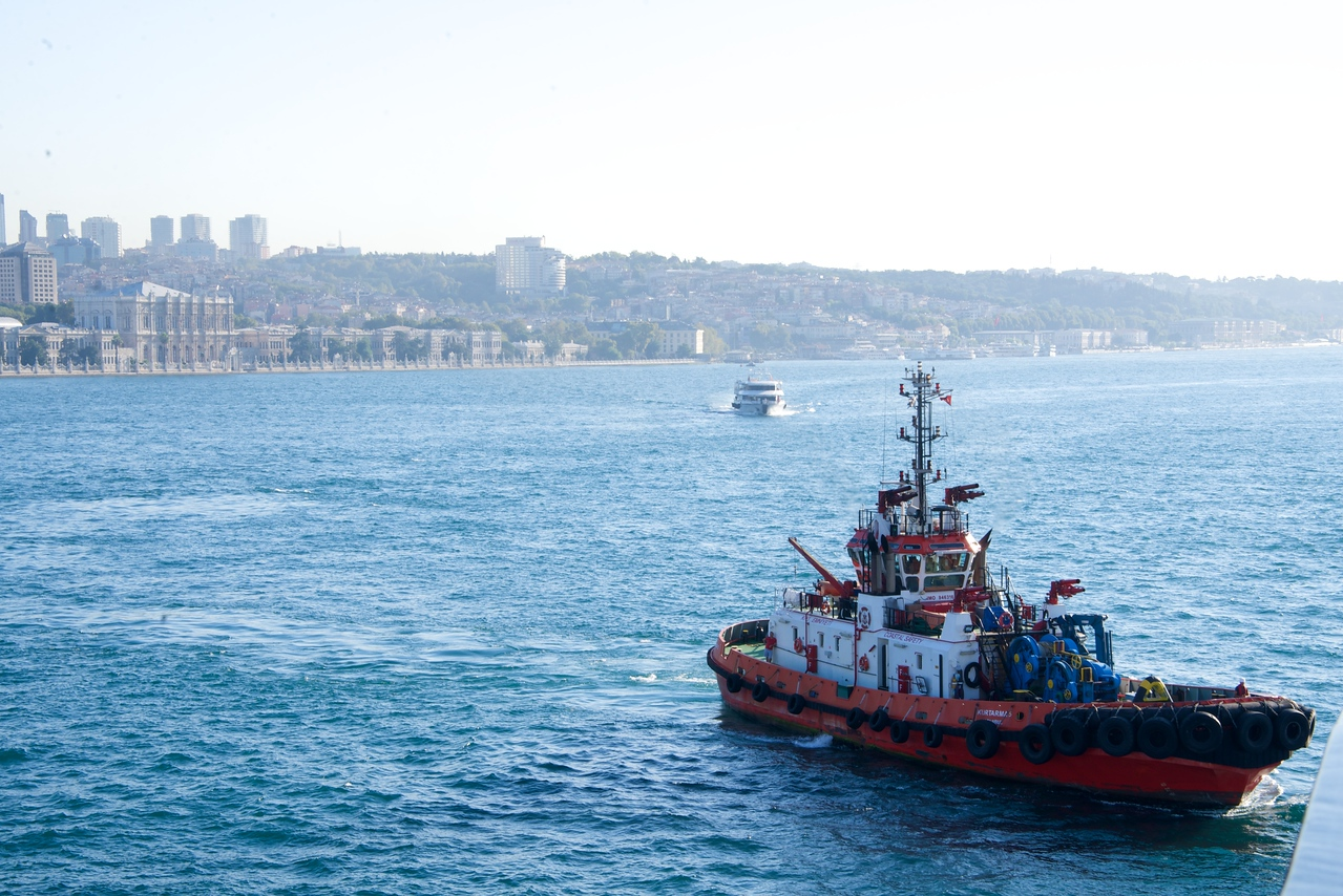 Bosphorus is So Narrow Ships Must Have Pilot Boats