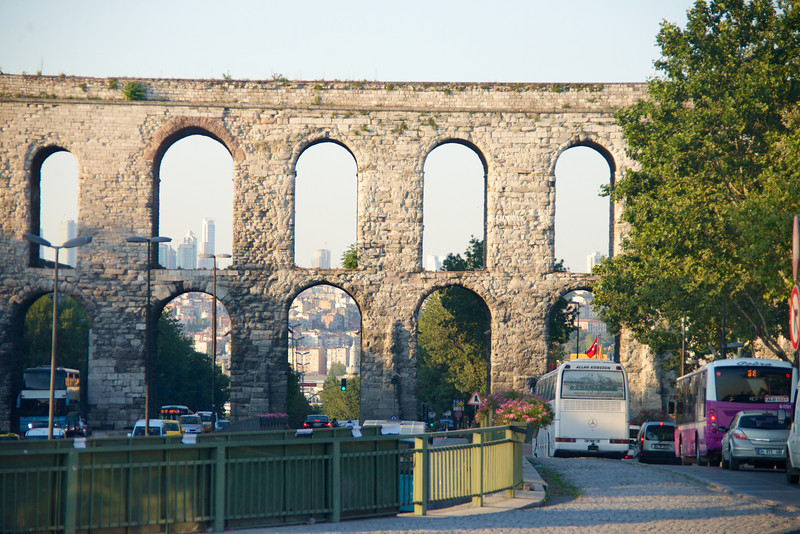 Roman Aqueduct… Modern Day Istanbul's Water Supply Comes From Bulgaria