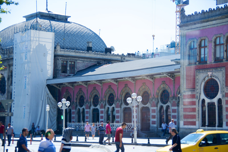 Istanbul Train Station… End Point of Orient Express
