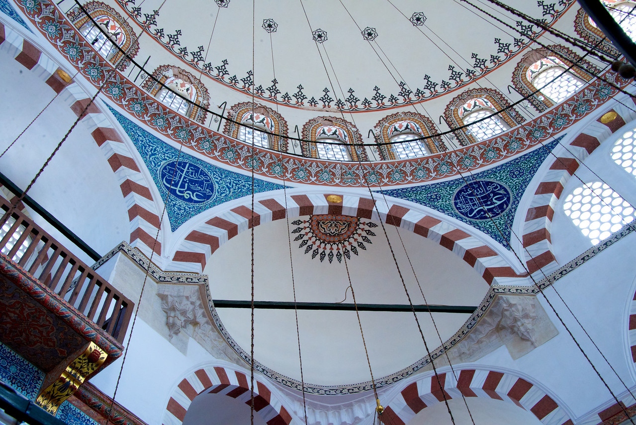 Ceilings of Mosque