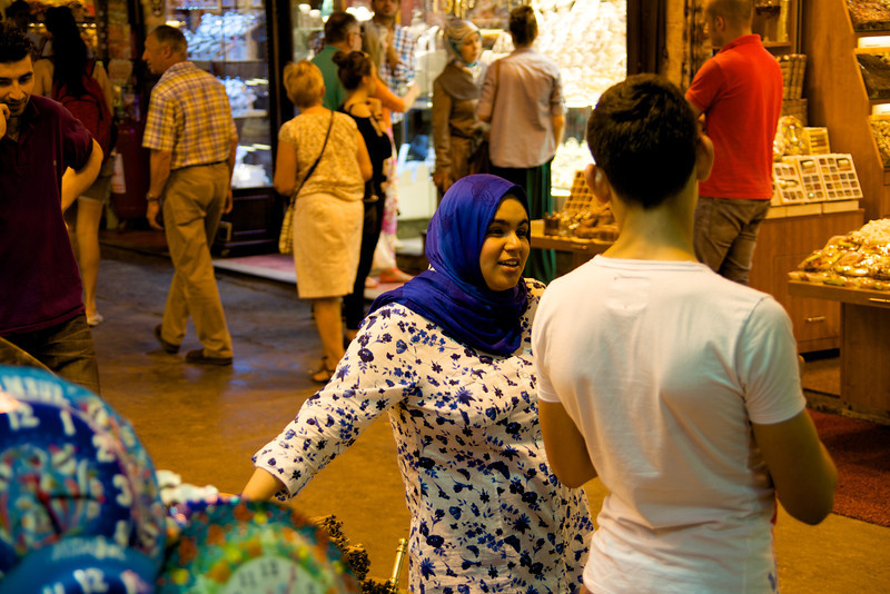 Locals Shop At The Spice Market… It Is Not Just For Tourist