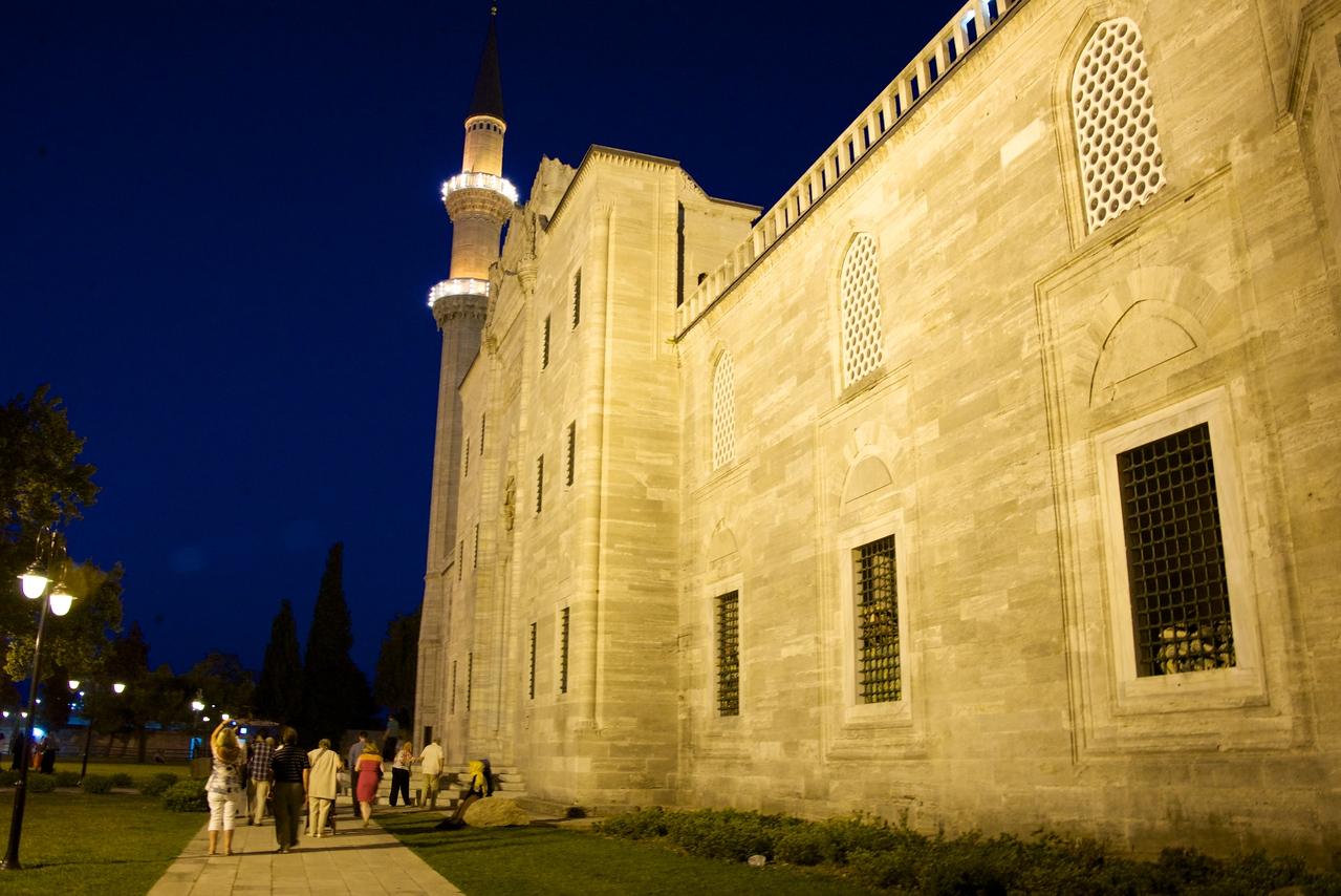 Entrance to Mosque Courtyard
