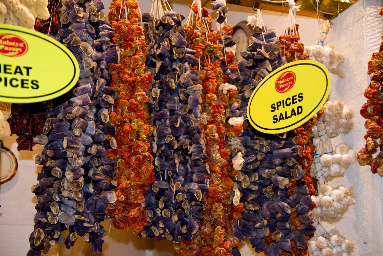 Hanging Spices… Variety of Peppers