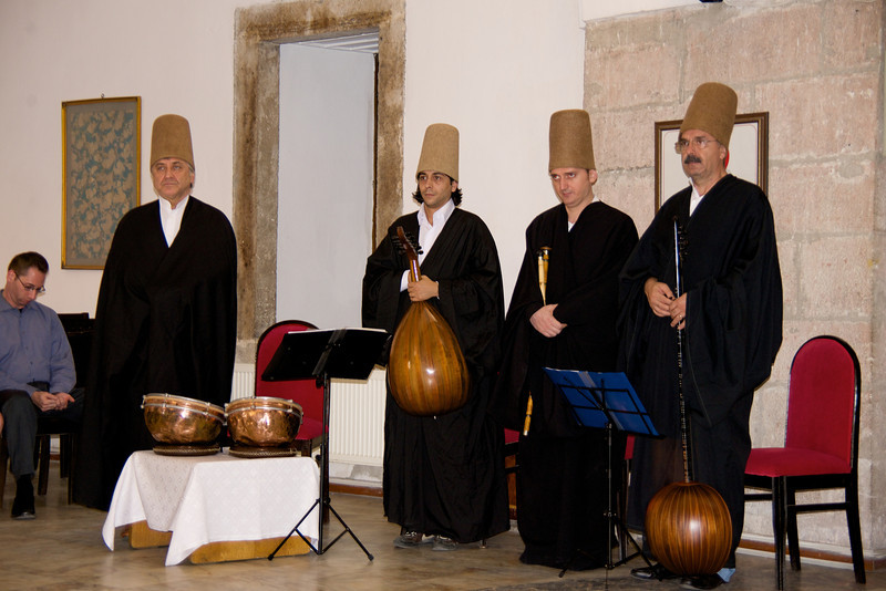 Musicians Play Mystic Music During Ceremony… Dervishes Are Popular Around The World… They Are The Most Tolerant Sect of Muslims