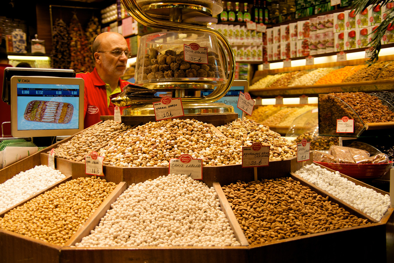 A Variety of Nuts Galore