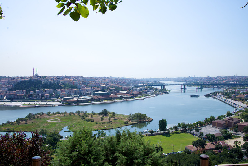 View From Pierre Loti Cafe…End of The Golden Horn