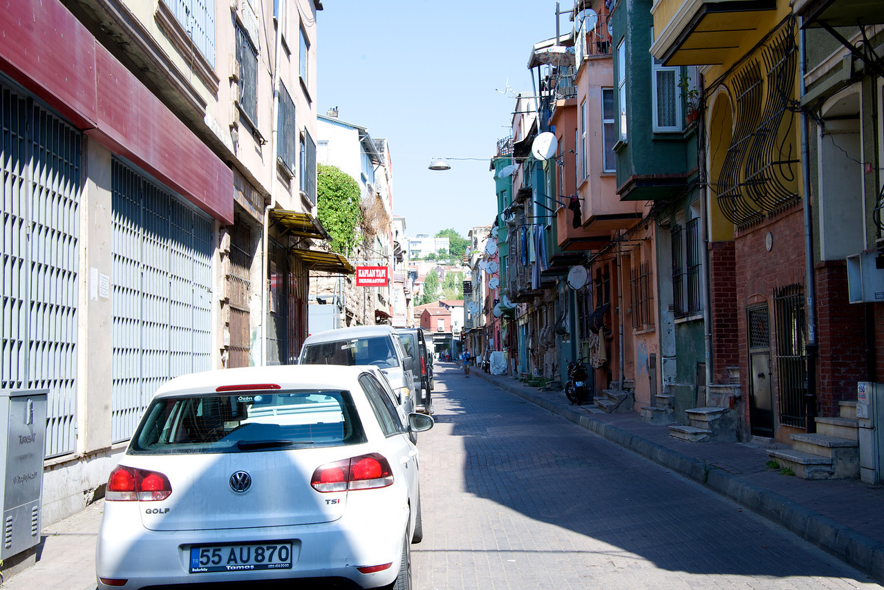 This is The Balat Neighbor Which is Very, Very Poor Area for Jews