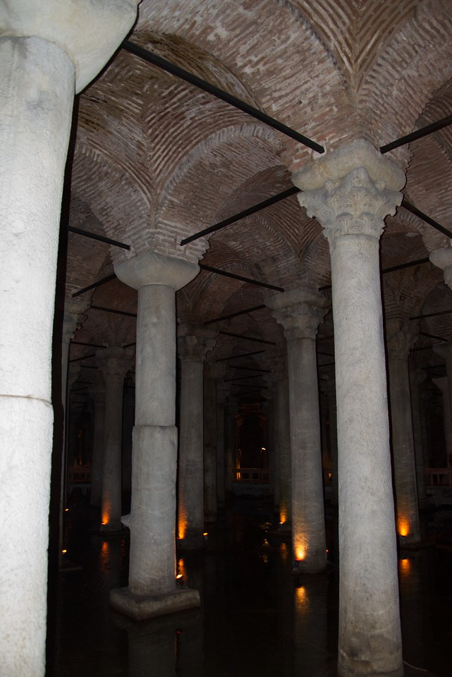Roof of Cistern