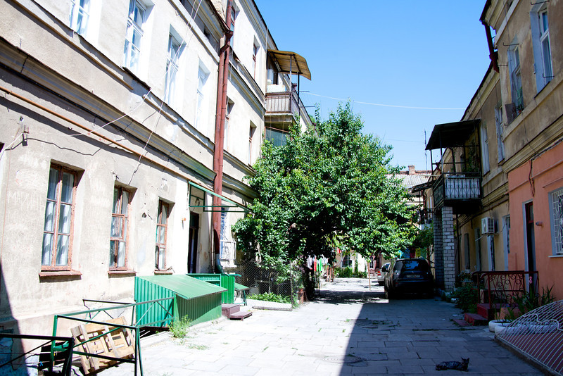Typical Courtyard in Jewish Section