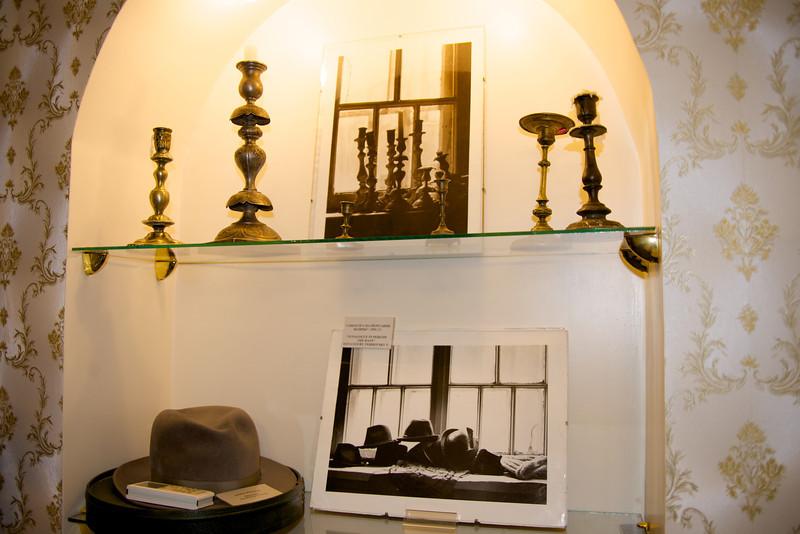 Shabbat Candlesticks and Hats