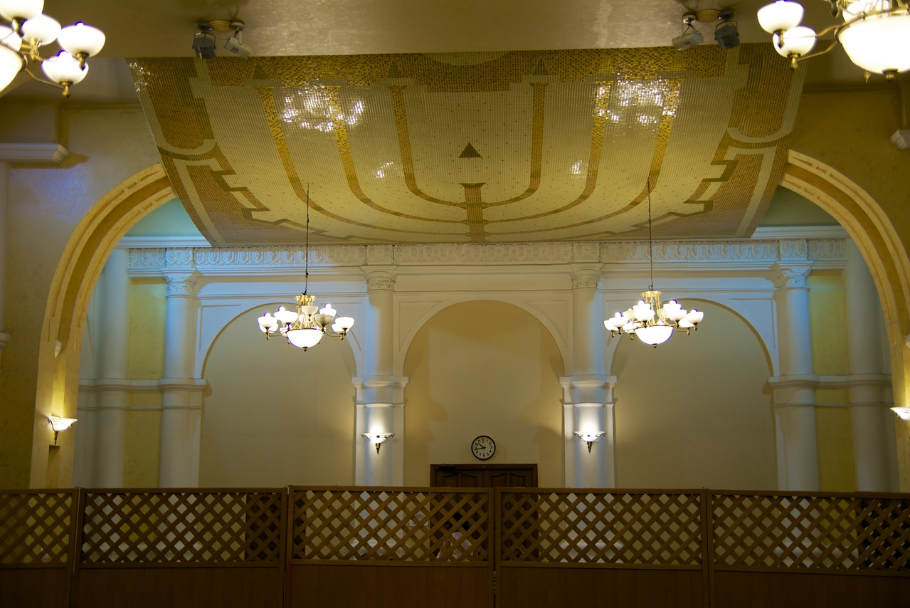 Ceiling Over Women's Section