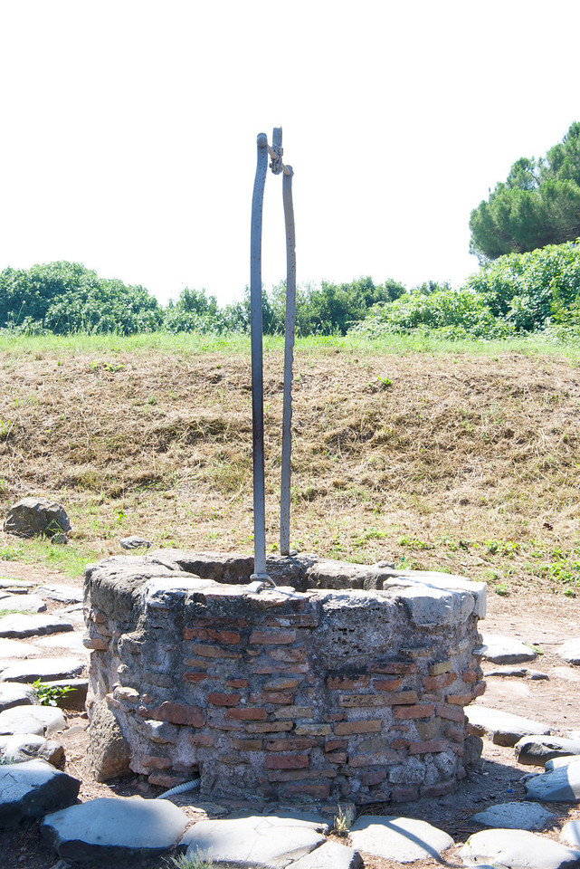 Water Stored in Wells Until Aqueducts Were Built
