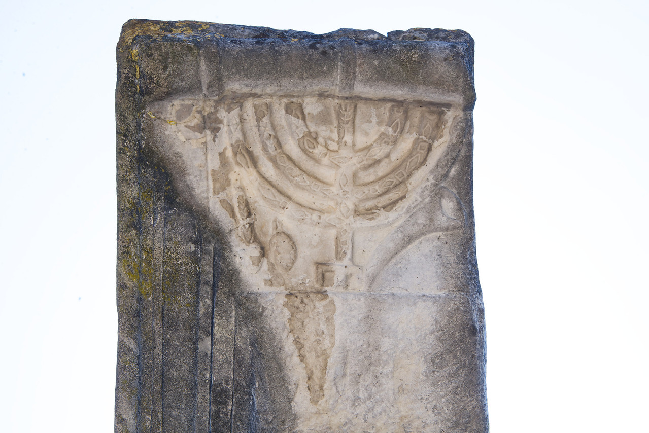 Knew It Was A Synagogue Because of The Menorah, Shofar, Lulav and Estrov