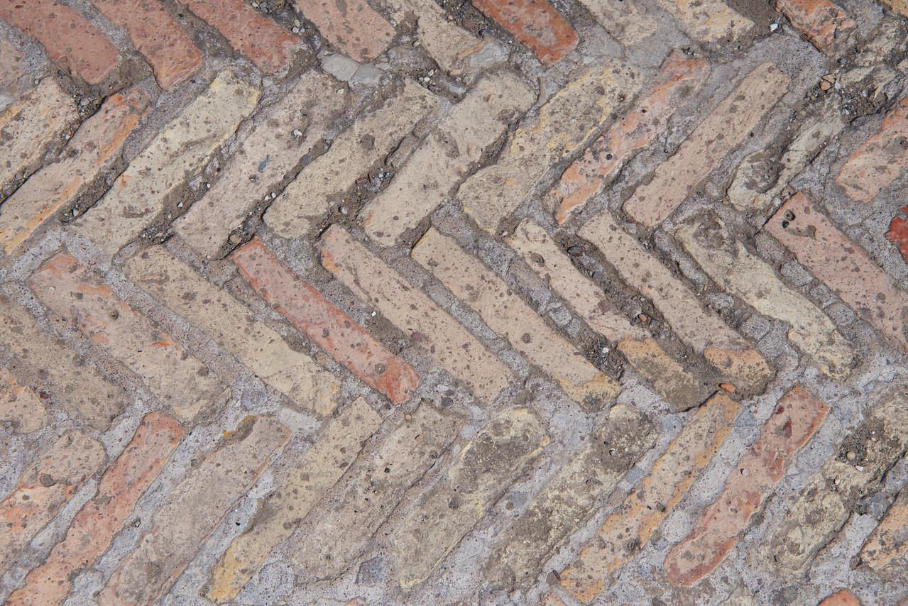 Original Roof Tile Floor… Texture