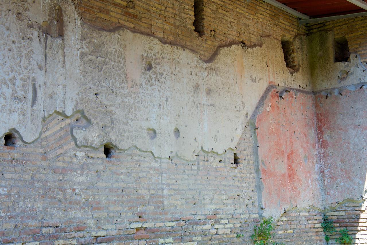 Example of Original Decorative Wall Plaster
