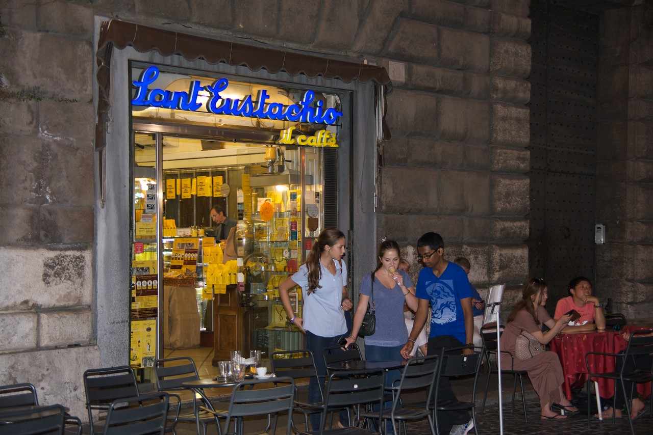 Famous Coffee Shop Near Pantheon