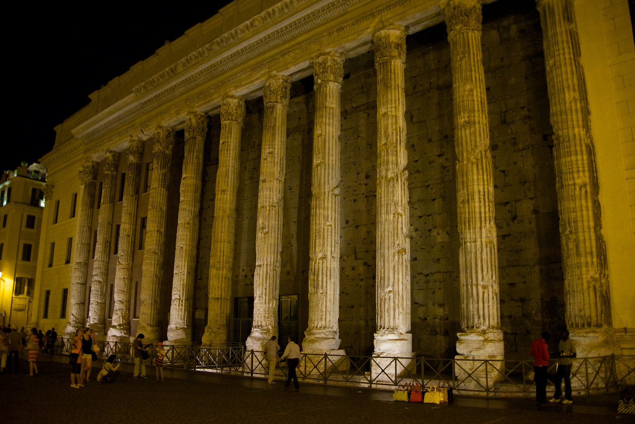 Built As Hadrian's Temple… Today It Is The Italian Stock Market